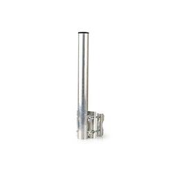 Antennmast för rör, räcken, staket, kabelstegar mm