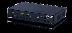 Presentations switch och scaler med HDMI, DP & VGA in
