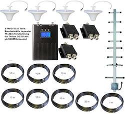 Paket för Telia +15dBm med fyra inomhusantenner 900Mhz