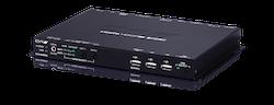 HDMI över HDBaseT 2.0 4K UHD mottagare USB/ UHD+/ LAN