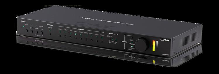 4K HDMI/ VGA/ USB Presentation Switch med HDBaseT