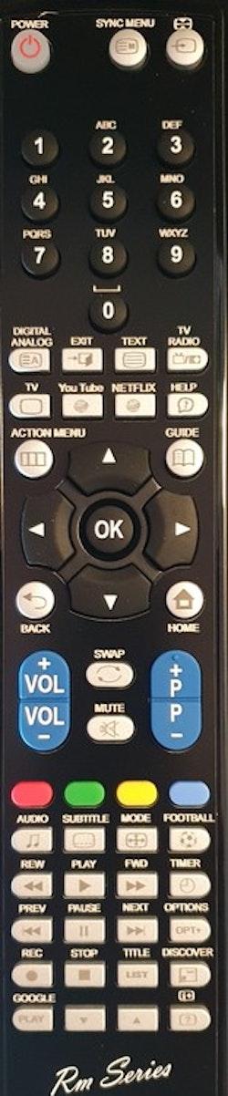 Ersättnings Fjärrkontroll RMT-TX100D