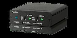 Power over HDBaseT/Ethernet injektor