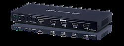 QU-28S-4K22 2 HDMI in 8 HDMI ut, 4K@60 HDR
