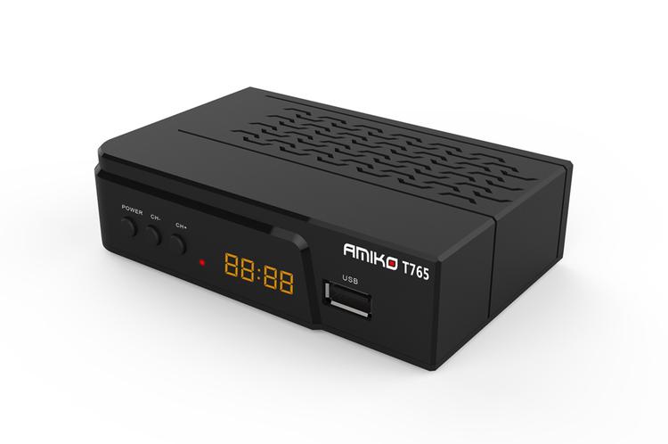 T765 För fria kanaler i marknätet HDMI & Scart