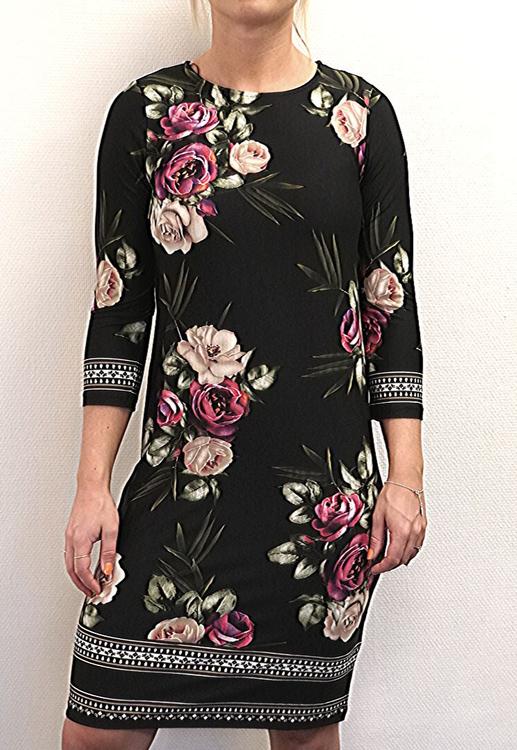 BLENDA DRESS PINK / FLORAL