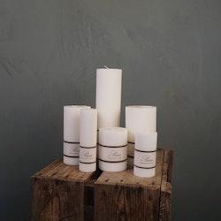 Blockljus olika storlekar 100% Stearin