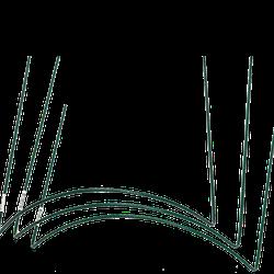 Buskstöd grön