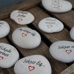 Stenar med budskap