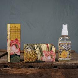 Pineapple & Pink lotus Handkräm, Fast tvål eller Handsprit