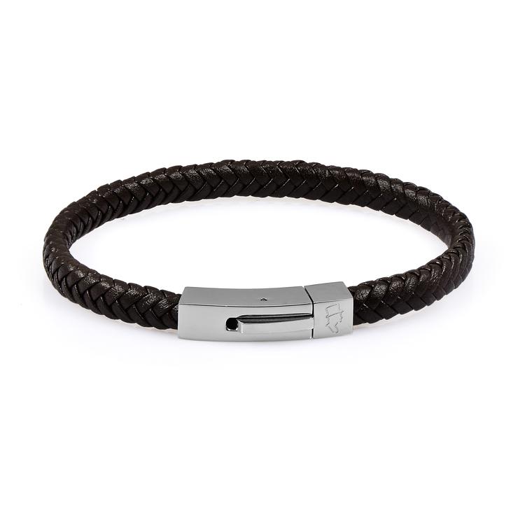 Black Single Leather