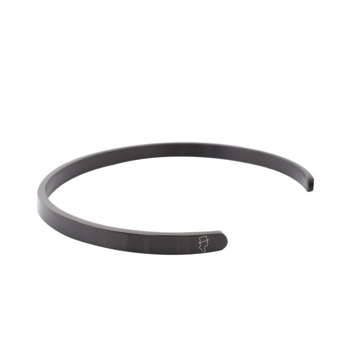 Steel Black Cuff 5mm