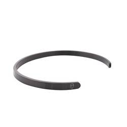 Steel Black Cuff 5mm