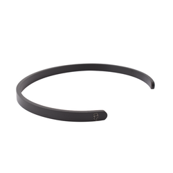 Steel Black matted Cuff 5mm