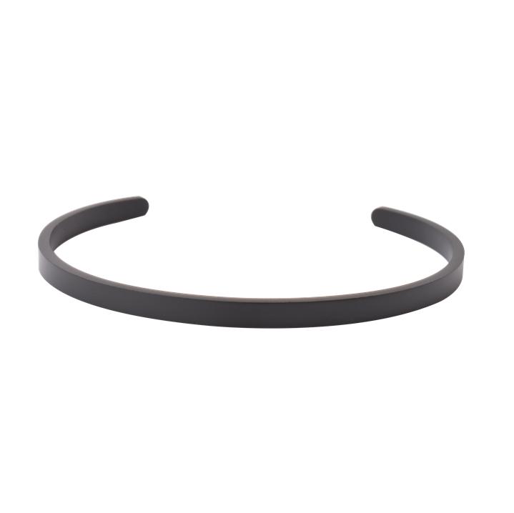 Steel Black matted Cuff 5mm