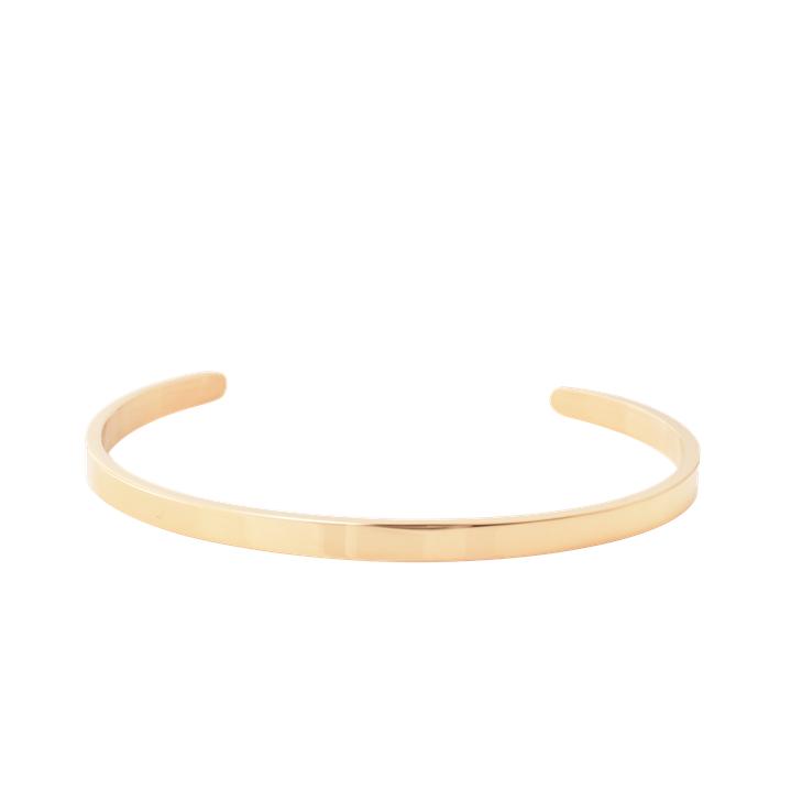 Steel Gold Cuff 5mm