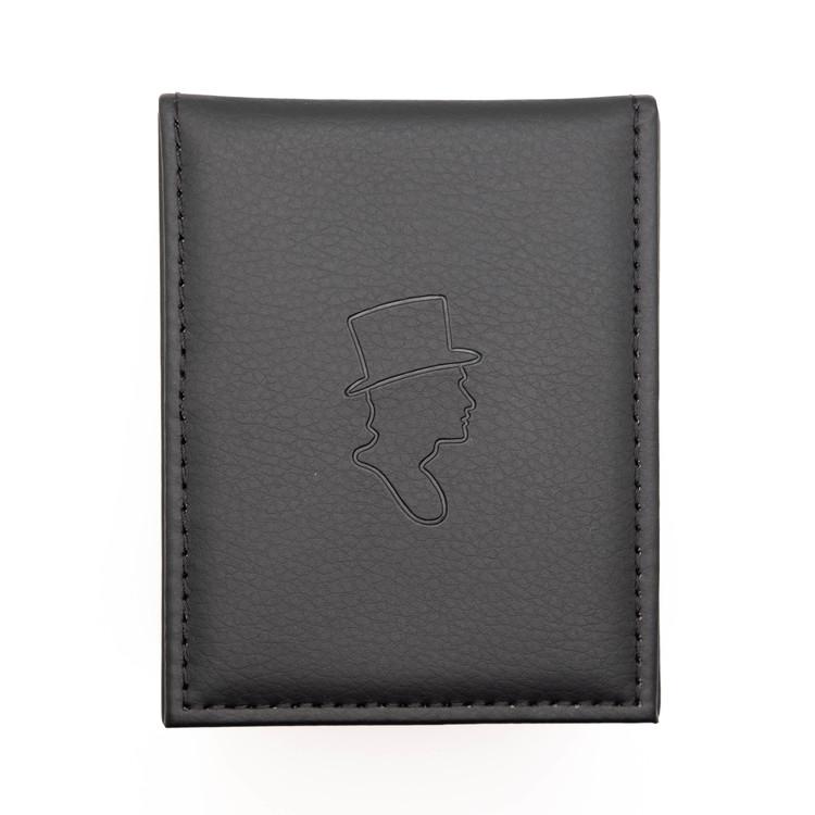 Paris Black Leather