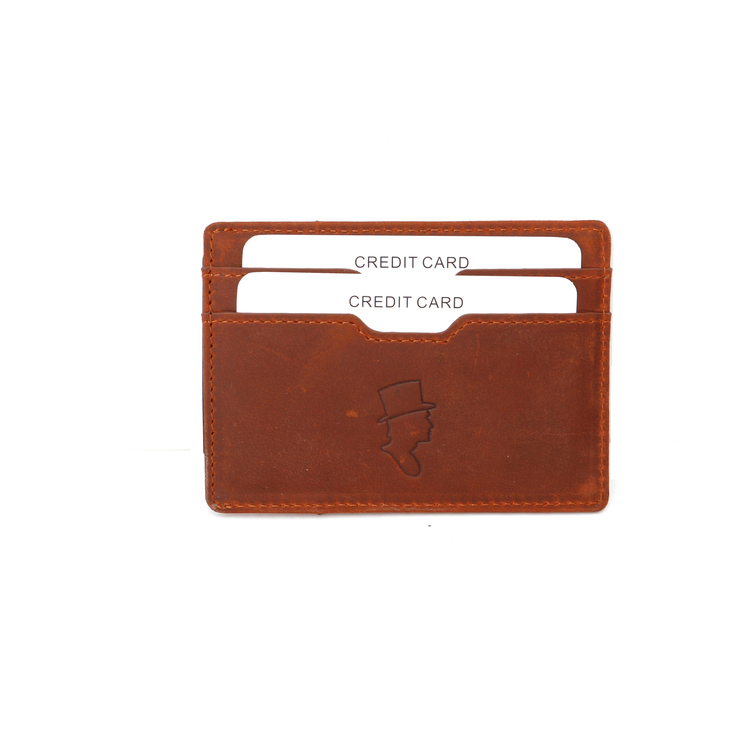 Card Holder Cognac
