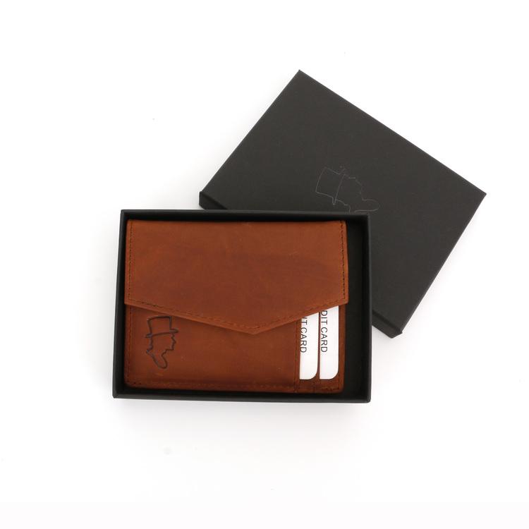Card Holder Wallet Lt Brown