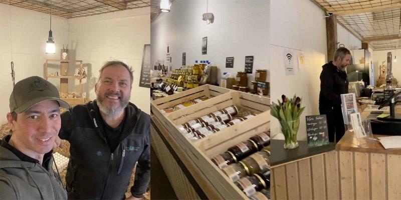 Stolta att ha Gårdsbutiken i Lännäs som återförsäljare