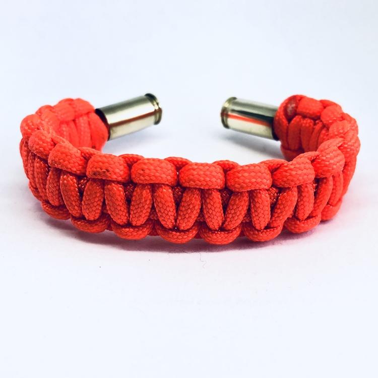Handgjorda Paracord Armband - Orange