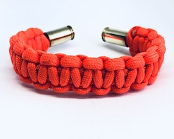 Handgjorda Paracord Armband - Orange
