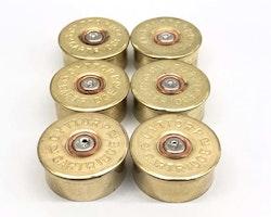 6 st Kylskåpsmagneter Kaliber 12