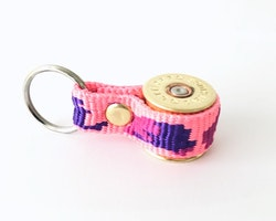 Nyckelring Kaliber 12 - Rosa Kamouflageband