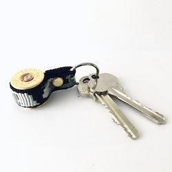 Nyckelring Hagel Kaliber 12-Svart Kamouflageband