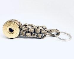 Nyckelring Lockvissla Kaliber 12 - Kamouflage paracord