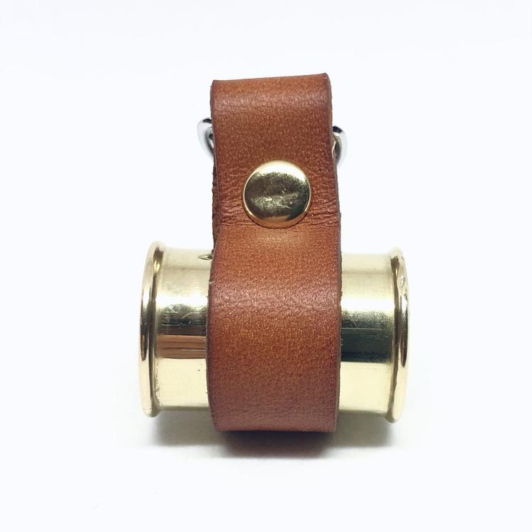 Lockhylsan Liam med brunt läderband