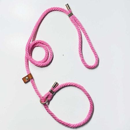 Retrieverkoppel - Rosa - 130 cm