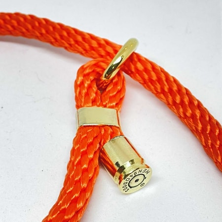 Retrieverkoppel - Orange - 130 cm