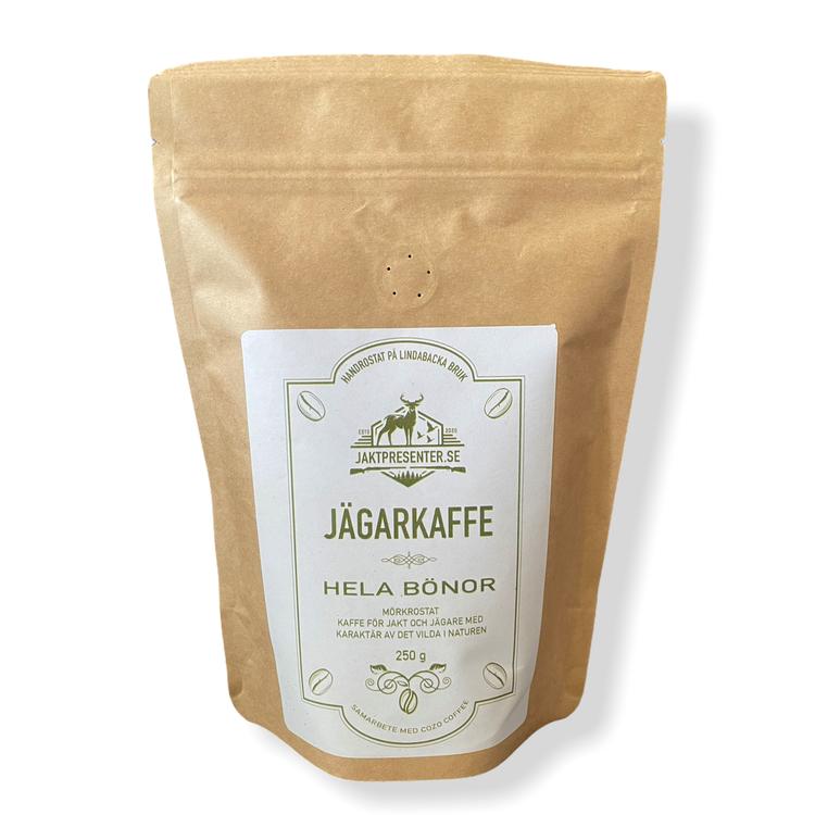 Jägarkaffe Hela Bönor 250g