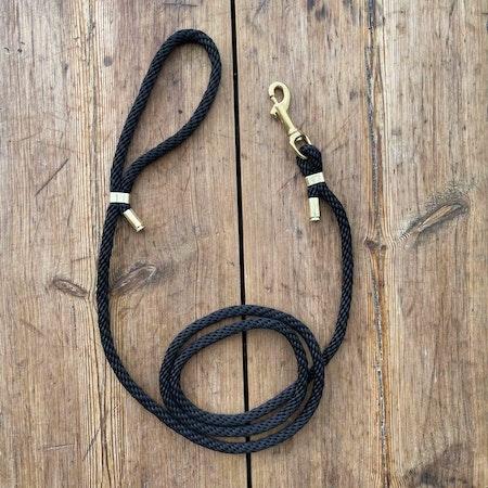 Hundkoppel - Svart - 150cm