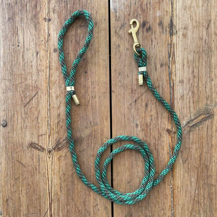 Hundkoppel - Grönt - 150cm