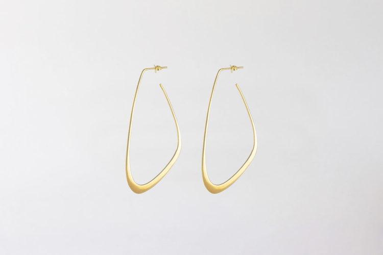 Flow Tide Earrings Gold