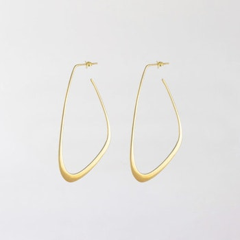 Flow Tide Earrings Gold