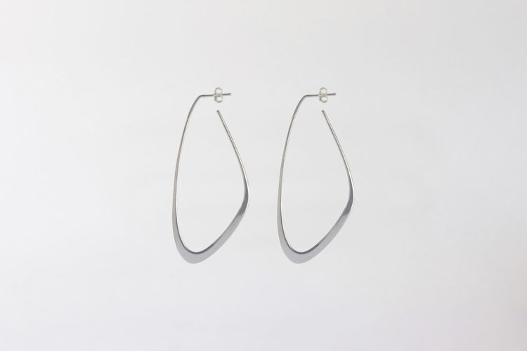 Flow Tide Earrings Silver