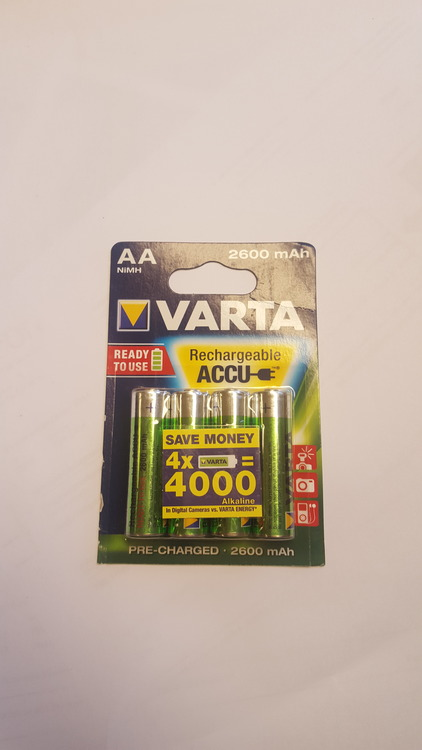 batteripack 1,2V 2600mAh 4st