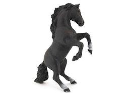 Stegrande häst svart (Papo)