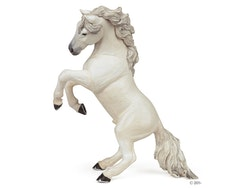 Stegrande häst vit (Papo)