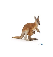 Känguru med unge (Papo)