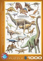 Dinosaurier 1000 bitar