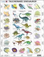 Dinosaurier, fakta, 35 bitar