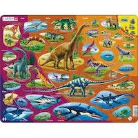 Dinosaurier, Trias-Nutid, 85 bitar