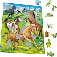 Hästar 65 bitar