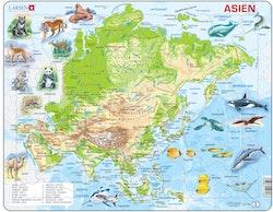 Karta Asien 63 bitar