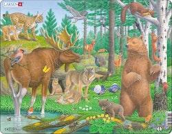 Nordiska skogsdjur 29 bitar