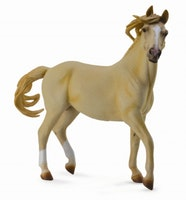 Deluxe 1:12 Mustang hingst palomino (Collecta)